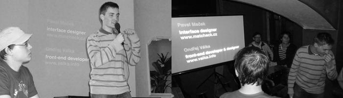 Pavel a já přednášíme na UXCamp.cz